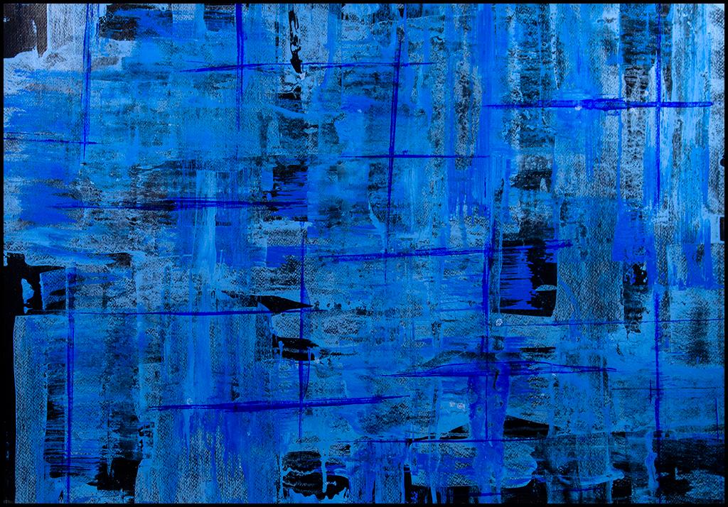 Cuadro acrilico abstracto original