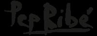 Logo de la firma de Pep Ribé para sus obras